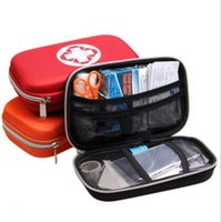 Wholesale 18 set Survival Medical Bag Emergency First Aid Kit Travel Outdoor Portable Equipment Emergency Bag Survival Kit Self help Box KKA1880