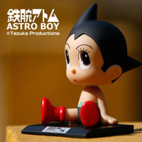 Wholesale Toy Astro Boy - Anime Cartoon Astro boy Toys PVC Figures Dolls Wacky Wobbler Kids Toy Gifts for Children 5