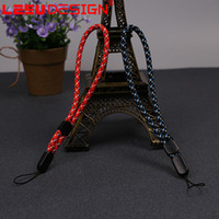 Universal Lanyards Neck Lanyard Long Straps Nylon Hang Rope para MP3 Mp4 ID Holder Celular Celular