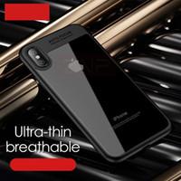 Wholesale Bumper Case Scratches Iphone - Slim Clear Scratch Resistant Transparent Back Cover Soft flexible Rubber Bumper case for iPhone X 10 8 7 6 Plus 5s note 8 s8 plus huawei