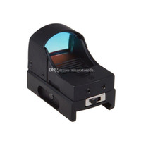 Wholesale Moa Rifle Scopes - Tactical Holographic Reflex Micro 3 MOA Red Dot Sight w Picatinny Weaver F00025 SPDH
