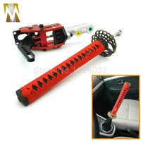 Wholesale Audi Brake Kits - 265mm Brand New JDM Drifting Hydraulic Handbrake Samurai Sword Handle Red +Black