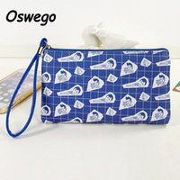 Wholesale Harajuku Clutch - Wholesale- New Harajuku Style Printing Women Bag Long Ladies Clutch Phone Key Organizer Pouch Card Holder Zipper Coin Purse with Hand-strap