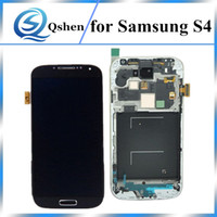 Alta copia A +++ grado LCD per Samsung Galaxy S4 LCD Screen Display Digitizer Assembly Sostituzione con telaio 100% Test