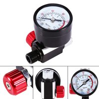 Wholesale Regulator Gauge - New Practical 1 4'' Mini BSP HVLP Spray Gun Air Regulator with Pressure Gauge Diaphragm Control