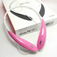 Wholesale Iphone Headphones Colors - 2017 HBS-800 Sports Stereo Bluetooth Wireless Headset Earphone Headphones + retail package with 8 colors