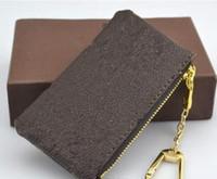 6542ca4f2b 4 colori KEY POUCH Damier pelle detiene alta qualità famoso classico  designer donne portamonete portamonete piccola borsa di pelletteria