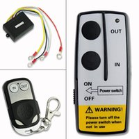 Wholesale Warn Winch Wireless Remote - Wholesale- YCDC Brand Wireless Remote Control Kit 12V Handset For Truck Jeep ATV SUV Winch Warn Ramsey 2017 HOT SELLING+free shipping