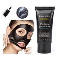 shills mascarilla negra de limpieza profunda al por mayor-Shills Peel-off de alta calidad mascarillas faciales de limpieza profunda MÁSCARA 50ML Blackhead Facial Top seller envío gratis