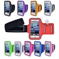 Wholesale Cover Sports Bags - 4.7 inch Phone Cases for iPhone 7 6 6s case Sport Armband Arm Band Belt Cover Running GYM Bag Case For Apple