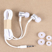 Barato Telefone Xiaomi M3-Cancelamento de ruído na orelha Xiaomi Piston Headphones para Xiaomi Samsung Iphone ISO Android Smart Phone 3.5mm Metal Mic Remote Earphones XM-M3