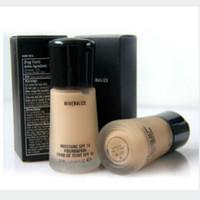 makeup mineralize foundation بالجملة-كريم الأساس الناعم غير اللامع طوال اليوم يضفي على لمعان الأساس السائل ماكياج الأساس 6 ظلال Maquiagem