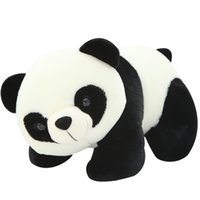 Wholesale Wholesale Small Black Dolls - 20cm 8inch Cute Lovely Panda Plush Toy Soft Small Stuffed Animal Doll Cartoon Gifts for Kids Children
