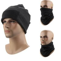 Wholesale Headband Hiking Mask - Fashion cotton magic scarf men women teens sports riding hiking Circle scarves outdoor wrap cap hat headband mask gloves solid color JF-122