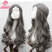 Wholesale Hair Wigs For Men Long - Fashion Long Curly Lolita Wig Anime Cosplay Hair Wig For Women Party Dress Cosplay Accessory Wigs