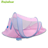 Wholesale Pink Cot Bedding - Wholesale-Hot Sale Baby Bed 0-2 Year Baby Bassinet Portable Infant Cots Cradle Folding Baby Crib With Netting Travel Cot Cradle