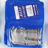 Wholesale Dental Diamonds Burs - Oral Hygiene Teeth Whitening 50pcs Dental Diamond FG High Speed Burs for Polishing Smoothing SF SERIES Dental Burs