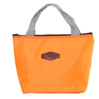 коробка для завтрака прохладный мешок оптовых-Термо-теплоизолированный неопреновый мешок для обеда для женщин Детские сумки для завтраков Tote Cooler Lunch Box Изоляционная сумка
