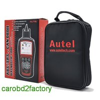 Wholesale Obdii Abs Engine - Original Autel AL619 ABS SRS+OBDII CAN Code Reader Autolink Diagnoses erases ABS SRS code Turn off Check Engine Light with DHL free shipping