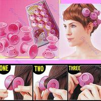 Wholesale Diy Magic Hair - Hairstyle Soft Hair Care DIY Peco Roll Hair Style Roller Curler Salon 10pcs lot Hair Styling Tools
