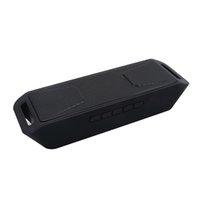 ingrosso costruzione dei bassi-All'ingrosso- S208 Lettore MP3 senza fili Altoparlante Bluetooth 4.0 Stereo Subwoofer TF USB Radio FM Microfono incorporato Altoparlante a doppio altoparlante a bassa intensità sonora