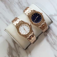 Wholesale Bracelets Stainless Silver Gold - 2017 Fashion lady watches women watch brand rose gold silver Stainless Steel blue Bracelet Wristwatches Brand female clock