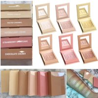 Wholesale French Wear - Kylighter Kylie Highlighters Kylie Cosmetics Strawberry Shortcake Candy Cream Salted Caramel Banana Split Kylighter French Vanilla 6 Colors