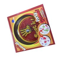 Wholesale Pvc Card Paper - Spot It Card Game Board Game for Children Magic Fun with Family Gathering the Animals Paper Quality Card Metal Box