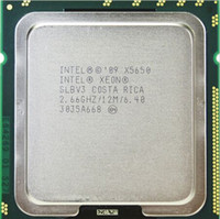 Wholesale Cpu Intel Xeon Server - X5650 Original Intel Xeon X5650 SLBV3 Processor Six Core 2.66GHz LGA1366 12MB L3 Cache server CPU