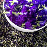 ingrosso fiori selvatici blu-Offerta speciale vendita diretta organico fiore blu tè viola farfalla pisello naturale secca profumata selvatica clitoria ternatea alle erbe 100g