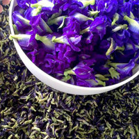 Wholesale Dried Scented - Organic Violet Butterfly Pea 1000g Natural Dried Blue Butterfly Flower Tea Scented Wild Bean Blue Flower Tea