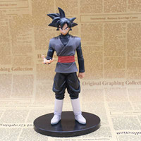 170617 QIUCHANY Dragon Ball Z Dragonball Son Goku Goku Black Zamasu Azione Figura giocattolo Son Toy Goku Dragon Ball Toy
