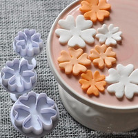 3шт English Primrose Flower 3D Плунжерные резаки Fondant DIY Cake Decorating Baking Tool ZH847