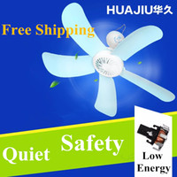 Wholesale Slient Five Blades Small household Appliance fan Home ceiling fan mosquito nets hanging fan student dormitory Bedroom Free Box