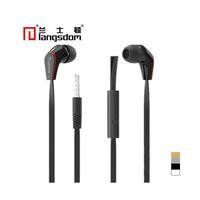 auriculares langston al por mayor-Langston Stereo Earphone Super Bass Hifi Auriculares con micrófono para Samsung Xiaomi iphone con 3 colores