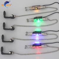 Wholesale Carp Alarms - Wholesale- SW3-JY illuminated Fishing Swinger Chain Swinger Carp Fishing Indicator 4 Colors for bite alarm