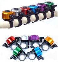 Wholesale Loud Horns - Wholesale-Explosion Models Aluminum Alloy Loud Sound Bicycle Bell Handlebar Safety Horn Ring Bike Bell Accessories Multi Colors Bicicleta