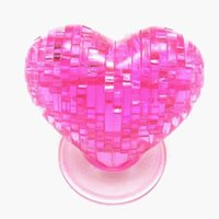 Wholesale Puzzle Furnish - 3D Crystal Model DIY Love Heart Puzzle Jigsaw IQ Toy Furnish Gift Souptoy Gadget
