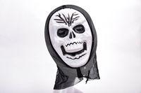 маска ведьм оптовых-Смешной анфас ПВХ реалистичные страшные ужасы Маска Хэллоуин смерть призрак ведьма гримаса крик маски партии Маска косплей костюм опора