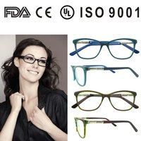Acetate spectacle frame manufacturers - eyeglasses without nose pads optical frames manufacturers in china Italy new stylish spectacle frame with CE and FDA