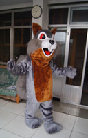 Wholesale Squirrel Mascot Adult Costume - high quality Real Pictures Deluxe squirrel mascot costume anime costumes advertising mascotte Adult Size factory direct free shipping