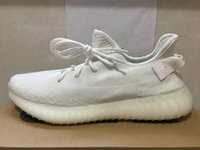 Wholesale Real Table - Real Boost 350 CP9366 Cream White Kanye West Zebra SPLY-350 Black Red Boost V2 Sports Shoes With Oringal Box