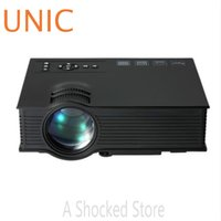 Оптово-UNIC UC40 + ЖК-проектор 800LM 800 x 480 пикселей с HDMI AV USB SD Card Вход VGA