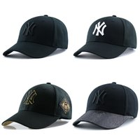 Wholesale Topi Snapback - Free shipping NY men women baseball cap snapback Hip hop Adjustable top casquette hat sport Dad hats topi High-quality unisex caps