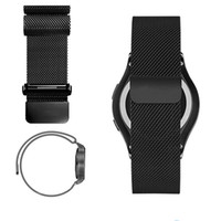 Wholesale Packing For Bracelet - Magnetic Milanese Loop For Samsung Gear S2 S3 Classic Watch Band Bracelet Strap Stainless Steel Metal Magnet With Retail Pack