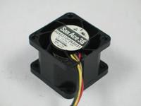 Wholesale aluminum copper connectors online - For SANYO GA0312P3K0031 DC V A wire pin connector x38x28mm Server Square Cooling Fan