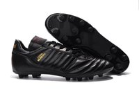 Wholesale soccer shoes size for sale - Copa Mundial FG Football Shoes Soccer Cleats Black Color Soccer Boots Mens Football Boots Size
