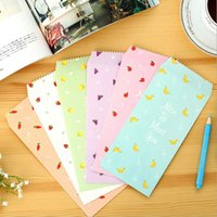 Vente en gros- 30packs / lot Simple Fresh Fruit Story série DIY Papier Kraft multifonction Enveloppe enveloppe verte en gros