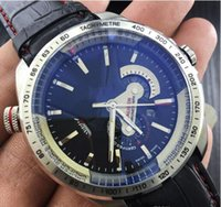 Wholesale Mens Auto Wind Watches - New Famous TAG Brand Luxury Watch Hand-winding Mechanical Auto Leather Watch CALIBRE 36 RS CALIPER CAV5115.FT6019 Mens Sports dress Watches
