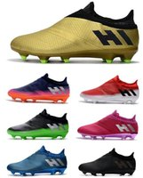 730f4371f9e1 2018 Men Men s X 17+ Purechaos FG Soccer Cleats Messi 16 Pureagility FG AG Soccer  Shoes Top Quality Soccer Boots New Arrive Football Shoes